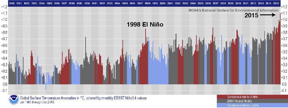 ENSO-Global Temperature